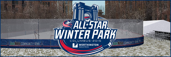 Columbus Blue Jackets All-Star Winter Park presented by Worthington Industries
