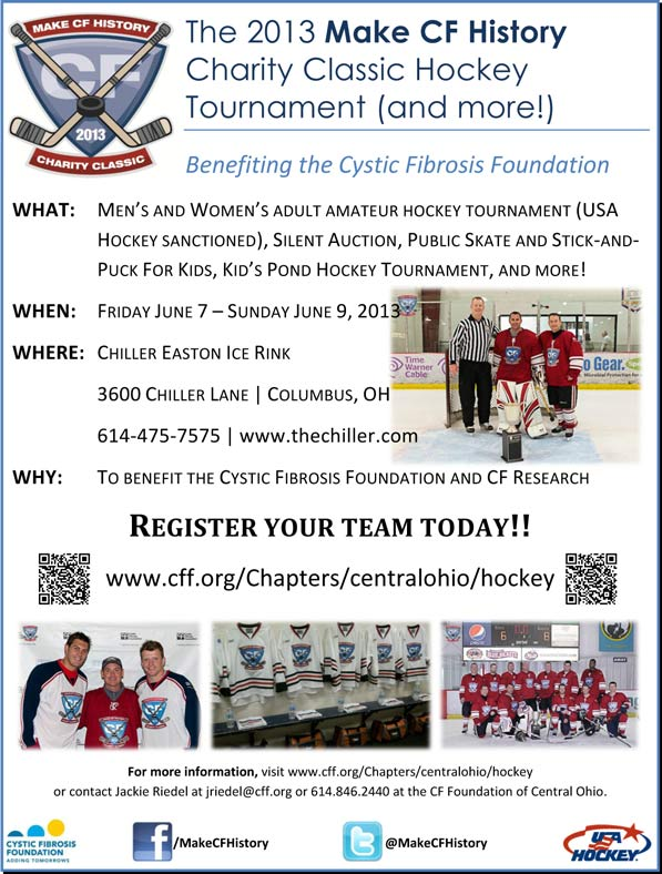 Make CF History Hockey Tournament