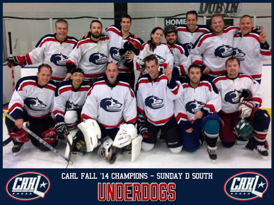 CAHL Sunday D South Champs