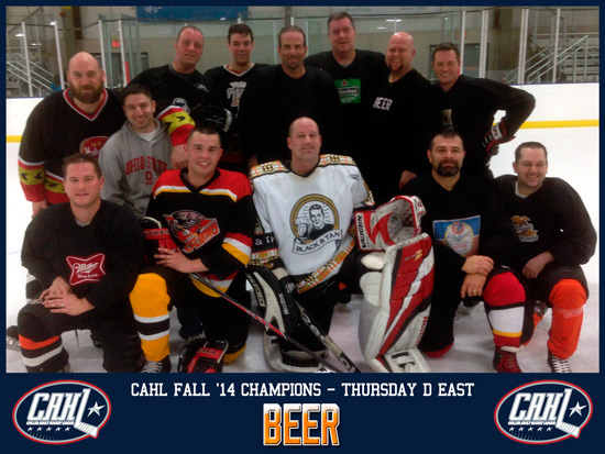 CAHL Thursday D East Champs