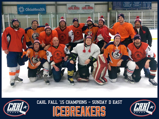CAHL Sunday D East Champs