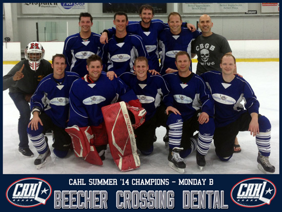 CAHL Monday B Champs