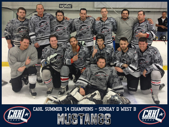CAHL Sunday D West B Champs