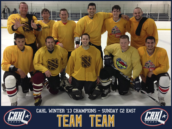 CAHL Sunday C2 East Champs