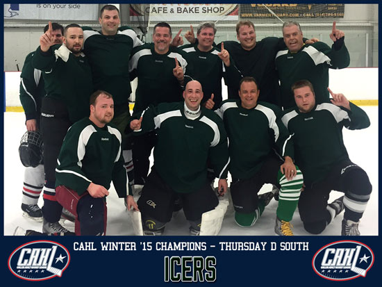 CAHL Thursday D South Champs