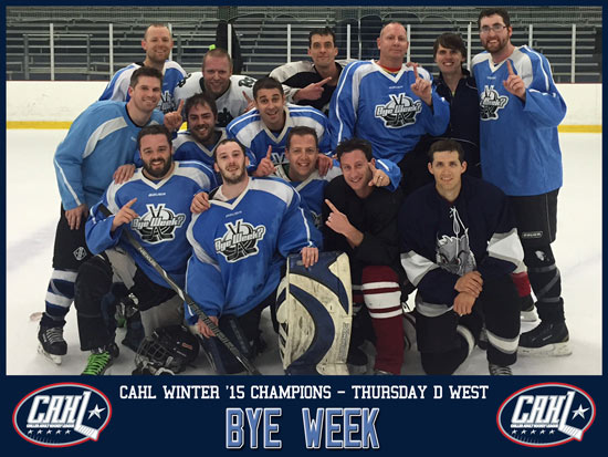 CAHL Thursday D West Champs