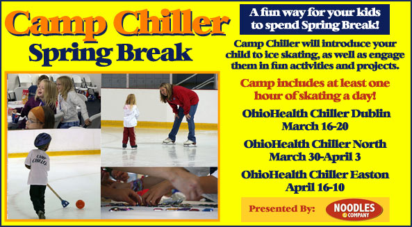 Camp Chiller - A fun way for your kids to spend spring break!