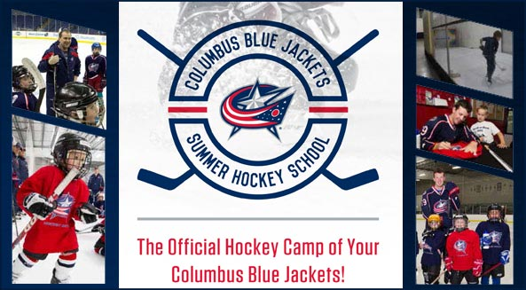 Register now for the 2016 Blue Jackets Summer Hockey School!