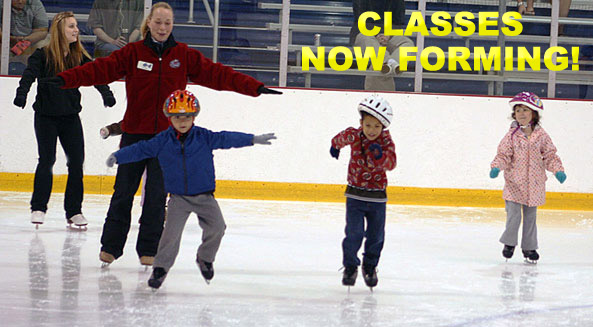 Register for early spring skating classes!