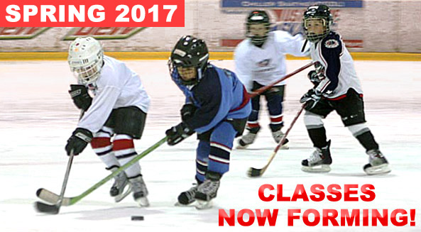 Register for SPRING Junior Jackets hockey classes presented by Tim Hortons! Session begins week of May 8.