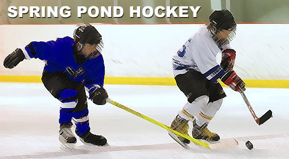 Pond Hockey begins April 1. Register your team now!