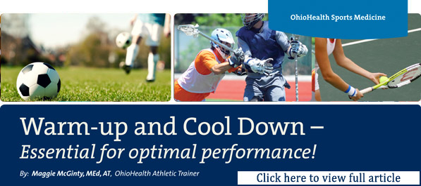 OhioHealth Hockey Resource Page - Warmup Cooldown
