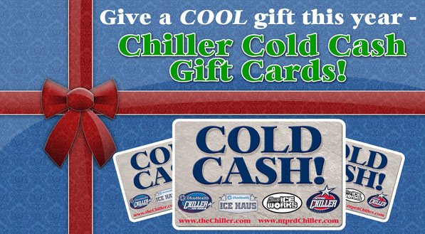 Chiller Cold Cash Gift Cards