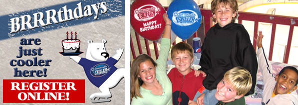 Register online for your Brrrthday Party!