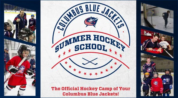 Register now for the 2015 Columbus Blue Jackets Summer Hockey School!